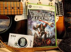 Brutal Legend: Heavy metal + videogames... You do the math 🎸🎶🎮/// #brutallegend : Heavy metal + videojuegos... Saca tus propias conclusiones🎸🎶🎮 #vidadeungamer #gameon #guitarra #guitar #marshall #xbox #xbox360 #gamer #instagaming #videogames #jackblack #ea #afinador #fender #stratocaster #fenderstratocaster #rocknroll #doublefine #retrocollectiveeurope #retro #gaminglove #openworld #lemmykilmister #ozzy #ozzyosbourne