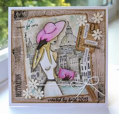 Kath's Blog......diary of the everyday life of a crafter: Inspired by Penny Black Day 2...