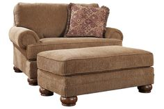 chair and ottoman  Love this set... I want two of them... and thats all...#Repin By:Pinterest++ for iPad#