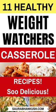 Easy Weight Watchers Casserole Recipes With SmartPoints. Have a look 11 From Weight Watchers Casserole Chicken, Pasta, to Weight Watchers Casserole Vegetarian recipes which are healthy and take just minutes. Give a taste to my Easy Weight Watchers Ca Weight Watcher Desserts, Weight Watchers Snacks, Weight Watcher Dinners, Petit Déjeuner Weight Watcher, Plats Weight Watchers, Weight Watchers Meal Plans, Weight Watchers Breakfast, Weight Loss Meals, Weight Watchers Casserole