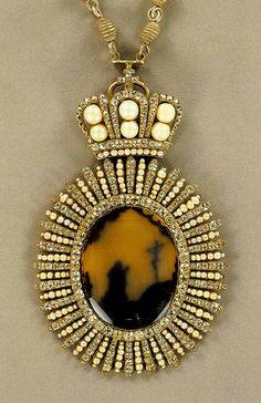 Панагия. Распятие.1784 г.