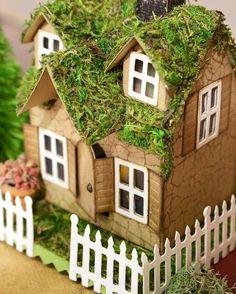 Tim Holtz Village Dwelling Inspiration found on the Sizzix FB Page - Scrapbook.com
