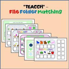 free file folder game templates - safety sign matching file folder game preschool