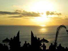 Uluwatu, Bali, Indonesia #wonderfulplace #wonderfulindonesia #sunset