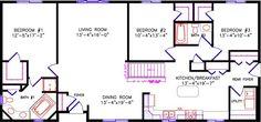 Alternate Floor Plan: 2720 Regency