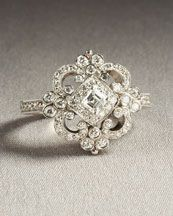 love antique engagement rings