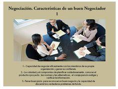 Negociación características de un buen negociador Polaroid Film, Teamwork, Tips, Messages