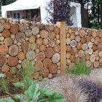 Gartenzaun Holzzaun - # Holzzaun Men's Trench Coats: Look Classy and Stay Warm! Log Fence, Farm Fence, Wooden Fence, Outdoor Fencing, Garden Fencing, Fence Design, Garden Design, Jardin Decor, Porch Garden