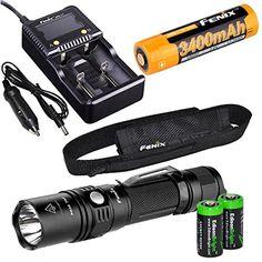 rechargeable USB PD35 DEL Lampe de poche avec 3200 mAh 18650 Fenix UC35 960 LM