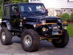 2000 TJ Off Road Jeep Wrangler
