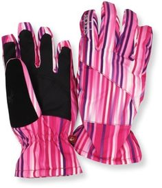 Spyder Girl's Astrid Ski Glove, Diva Pink V Speedlines, X-Large by Spyder. $33.80. From the Spyder Active Sports accessories collection. Cold Weather, Skiing, Diva, Gloves, Girl Outfits, Action, Outdoors, Girls, Clothing