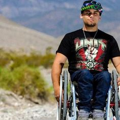 Aaron Fotheringham. Paraplegic extreme athlete, star of traveling show Nitro Circus.  >>> See it. Believe it. Do it. Watch thousands of SCI videos at SPINALpedia.com