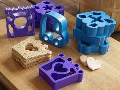Sandwich Cutters. These are cute and no crusts to boot.
