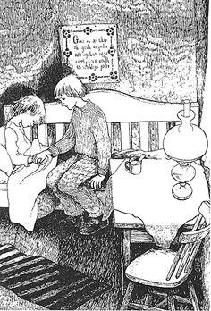 Ink Illustrations, Children's Book Illustration, Okuda, Beloved Book, Tove Jansson, Black And White Drawing, Bioshock, Picture Books, Childrens Books