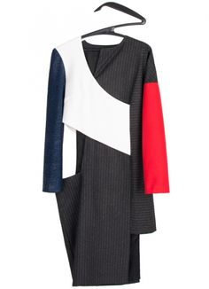 Cubism Dress Ines Marques, fashion design, independent brand, scar-id store