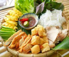 Món ngon Hà Nội: bún đậu mắm tôm