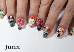 Lunar New Year 2017: Rooster Nail Art -  - NAILS Magazine