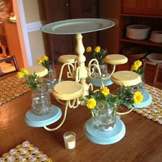 married filing jointly, newly weds, Etsy, date ideas: DIY Cake Stand