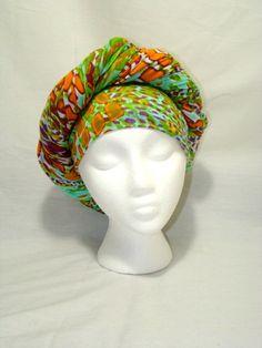 Beautiful Multicolor Leopard Print Knit Jersey Stretch Headpiece