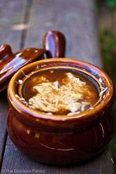 Clean Eating French Onion Soup Recipe