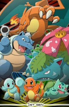 Pokemon 1st generation