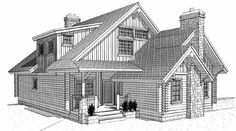 Small front cottage w/ future expansion