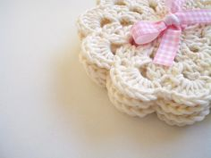 Hey, I found this really awesome Etsy listing at https://www.etsy.com/listing/226034676/coasters-lace-doilies-cream-bridal