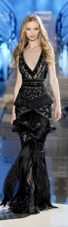 Wonderful gala dress by Zuhair Murad.