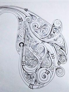 Meditative doodle