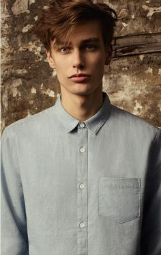 — Marc Schulze New Look Beautiful Boys, Pretty Boys, Beautiful People, Boy Models, Blonde Male Models, Herren Outfit, Male Photography, Male Face, Male Beauty