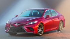 Speculative rendering for the 2018 Toyota Camry.