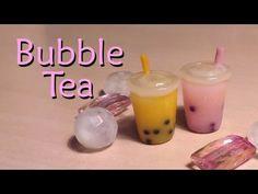 Easy Polymer Clay Tutorial; Bubble / Boba Tea Charm - YouTube