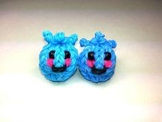 3-D Happy Blueberry Tutorial (Rainbow Loom) by Feelin' Spiffy.