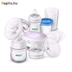 Philips AVENT Life-Like Premium Breastfeeding Starter Set with Electric. Pots, Nursing Pads, Bottle Feeding, Baby Bottles, Happy Kids, Starter Kit, Baby Love, Breastfeeding, Kids Shop