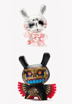 Have! Kidrobot Dunny - I have the top one, from the Aztec collection (I think)