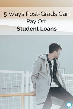 Student loan debt consumes a large part of many students' income and it can be a large financial burden, especially if they do not move into their chosen careers with set, large salaries. Before you panic, you should consider the following things you can do to pay off your student loan debt.
