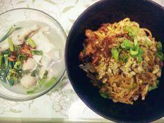 Resep Mie Yamin Manis Komplit Oleh Yugi Resep Makan Malam Resep Makanan