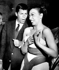 Jerry Lewis and Josephine Baker