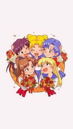 手机壁纸♥-☞{美少女战士Sailormoon}☜-堆糖,美好生活研究所