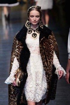 Dolce & Gabbana bring back the Italian Renaissance!