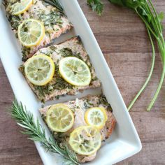 Lemon Herb Salmon Recipe #salmon #bake #DIY #cook #healthy #delicious #ideas #lunch #dinner #lunchideas #dinnerideas #diet #omega3 #fish