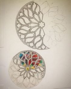 Gothic rose window myart gothic gothicwindow rosewindow gothicrosewindow church churchwindow drawing architecture element windows in gothic style royalty free vector image Gothic Drawings, Art Drawings, Drawing Sketches, Drawing Ideas, Drawing Art, Islamic Art Pattern, Pattern Art, Mandala Drawing, Mandala Art