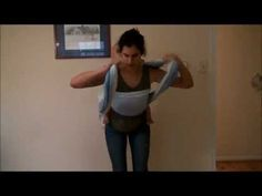 ▶ Double Hammock with tips for a snug chest pass - YouTube (carry for size 5-7 wrap)