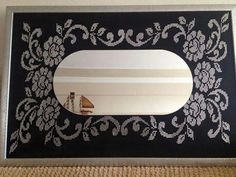 Hand Embroidery, Mirror, Crafts, Home Decor, Cross Stitch, Frames, Silk, Cooking Food, Recipes