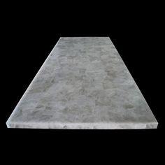 Crystal Quartz Tabletop 4 x 8', 1 piece