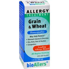 Bio-Allers Grain and Wheat Allergy Treatment - 1 fl oz