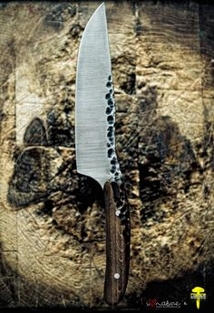 Hand-forged Chef Knife by Lotar Knives