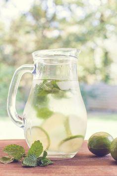 Detox Water recette eau aromatisee citron vert menthe boire boisson rafraichissante blog hello little world hlw 05