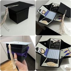 Graduation exploding box