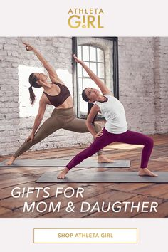 The best present this season is time spent together. Pair up with matching styles and hit the mat. These are the gifts to celebrate those special moments. Wellness Fitness, Yoga Fitness, Mom And Baby, Mommy And Me, Paul Kiss, Christian Films, Sciatica Exercises, Decorative Crafts, Tall People